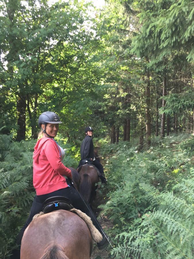 2. tur på ridelejren