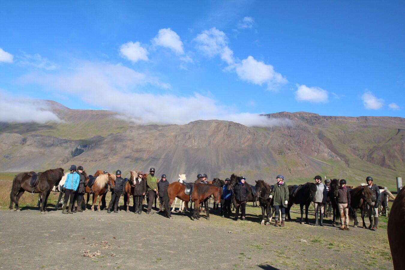 Funfte und letzte Ridedag auf Island