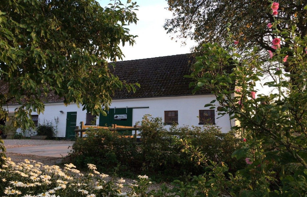 Østrup Turridning holder til i et gammelt statshusmandsbrug fra 1926.