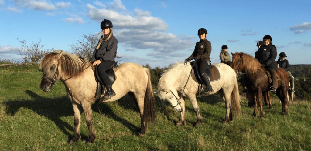 Efterårsferiens første ridelejr