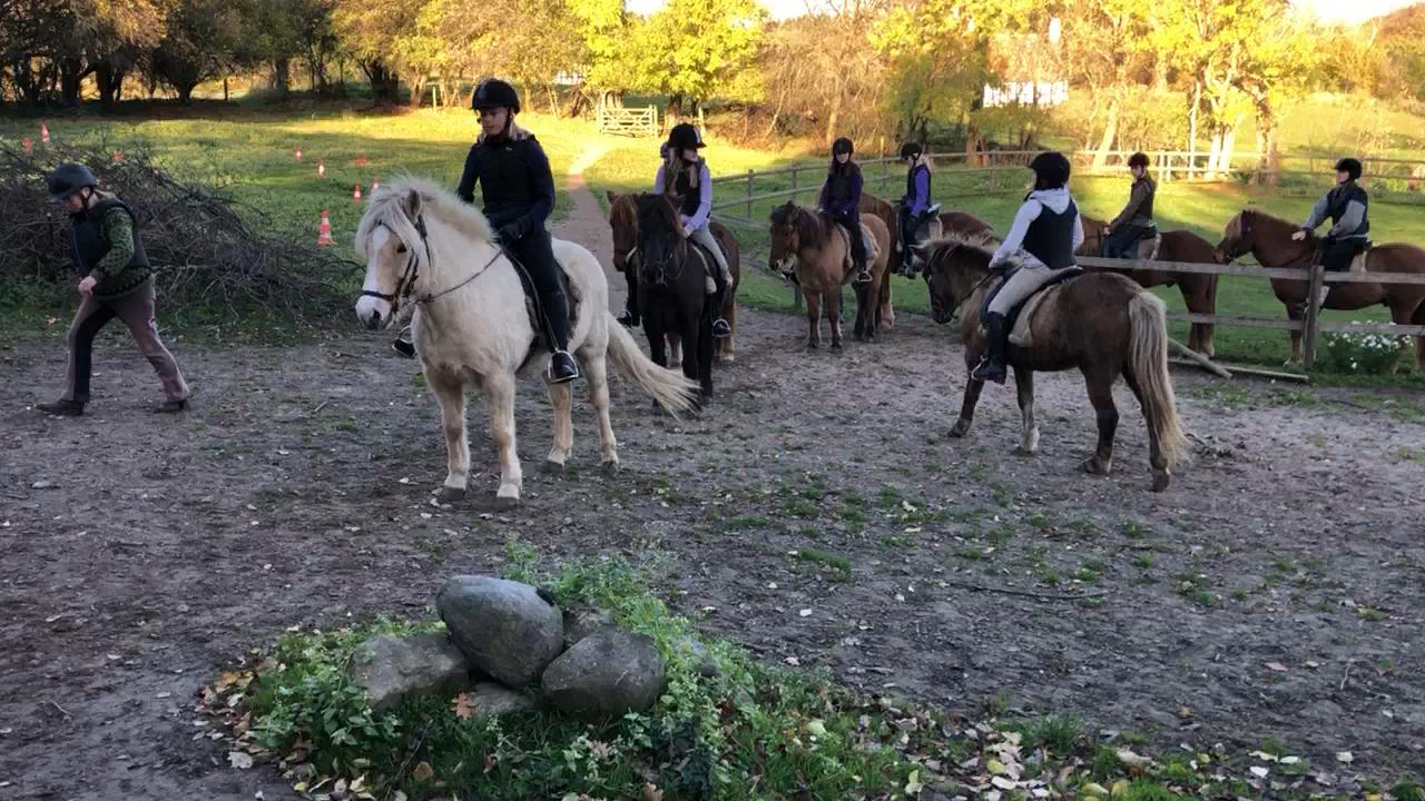 Første tur med Pumpehuset på ridelejr