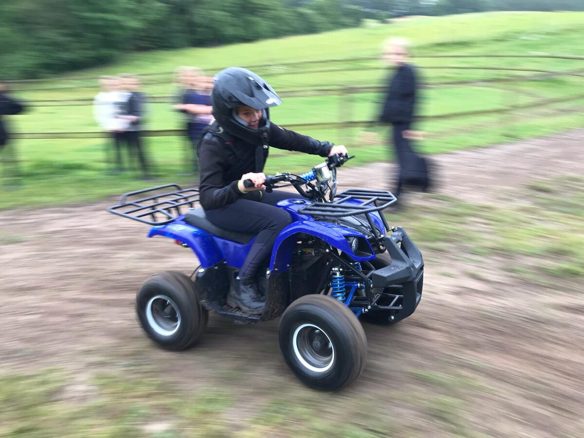 Ridelejren på ATV racere