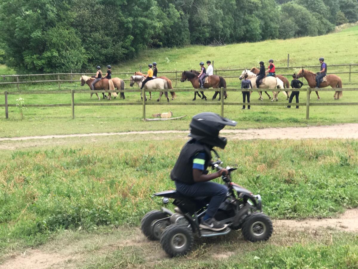 ATV og heste