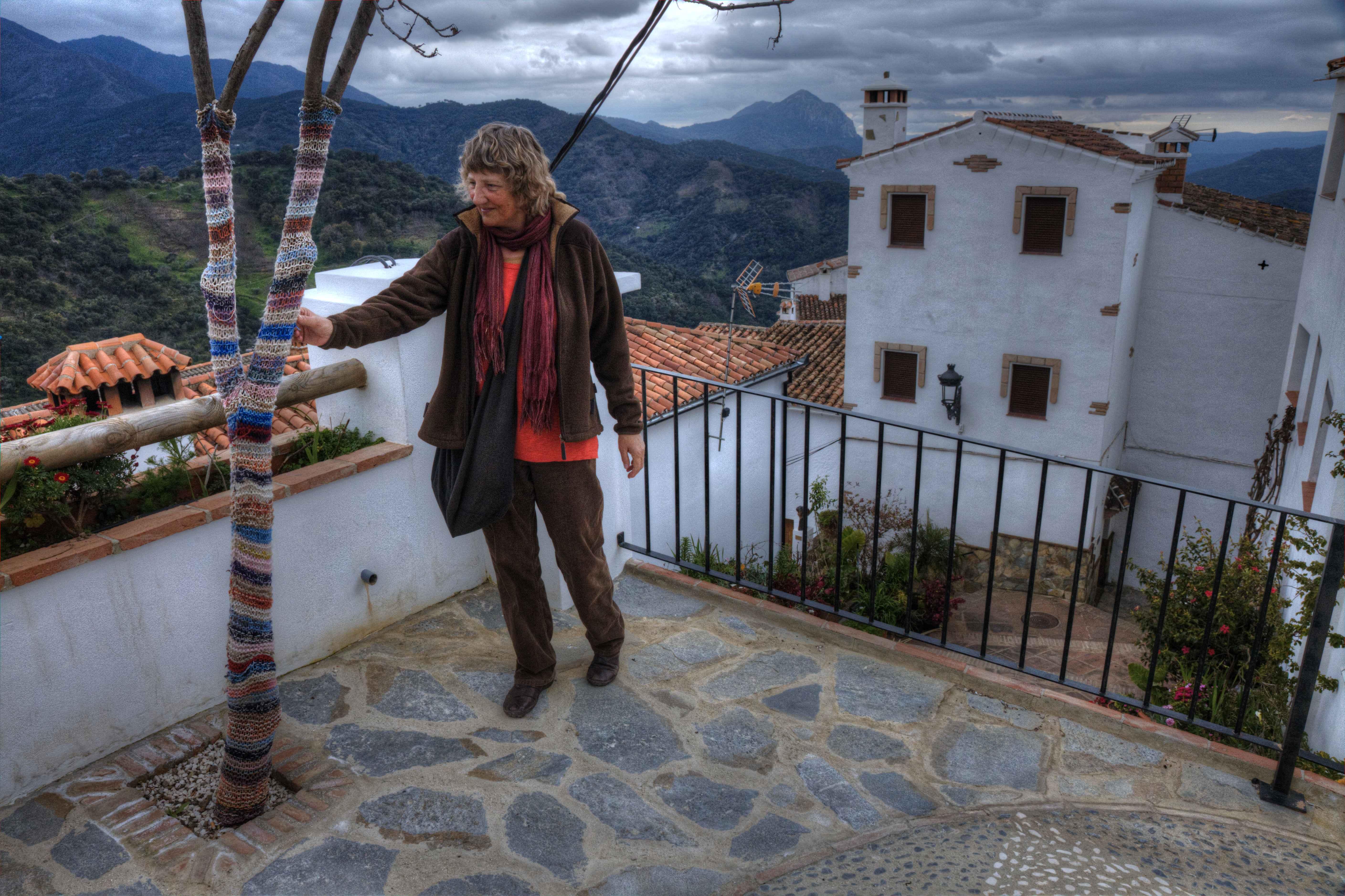 Fra El Burgo over Genalguacil, Gaucin, Zahara, Algeciras, Gibraltar og tilbage